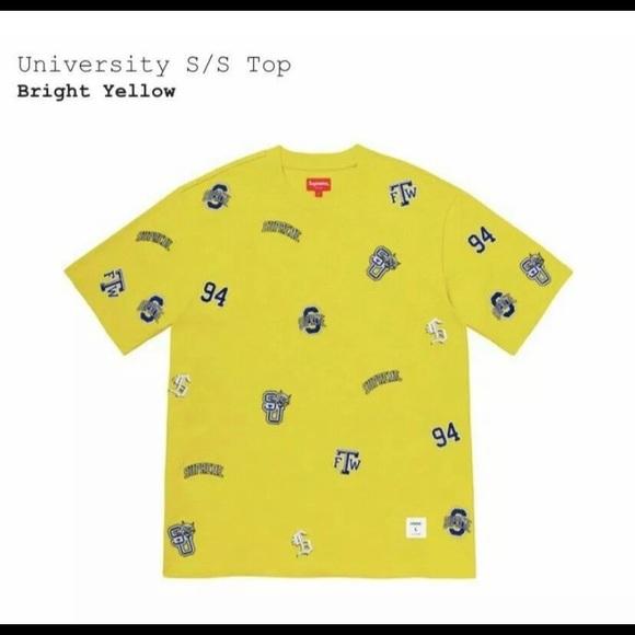 Supreme university Tee shirt